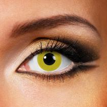 Pure Yellow Yearly Colored Contacts