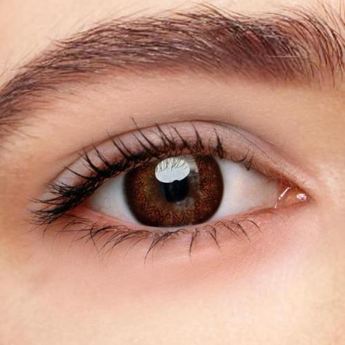 Starshine Doll Brown Prescription Yearly Colored Contacts