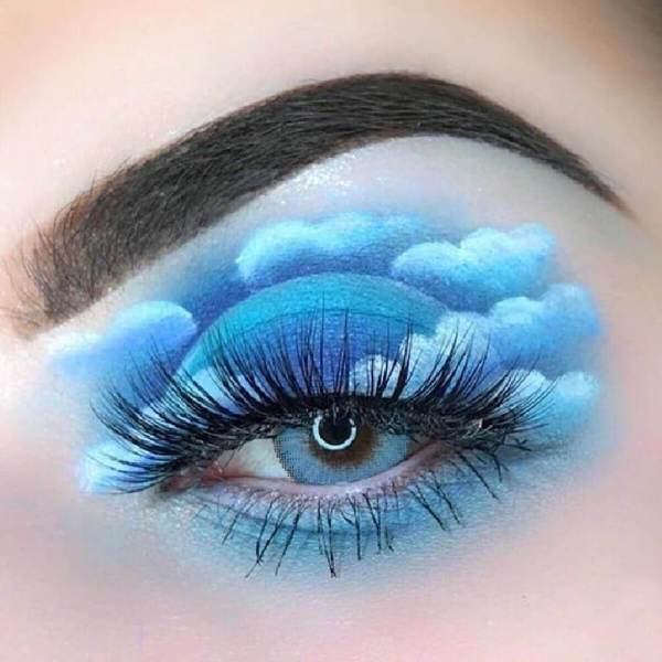Ocean Sky Blue Yearly Colored Contacts