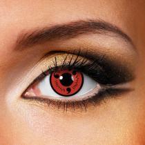 NARUTO-Sasuke Sharingan Yearly Colored Contacts