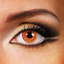 Illusion Red Yearly Colored Contacts