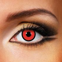 Circle Red Yearly Colored Contacts