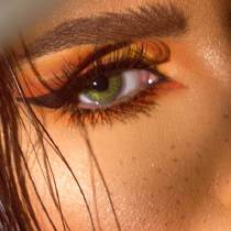Natural Green Yearly Colored Contacts