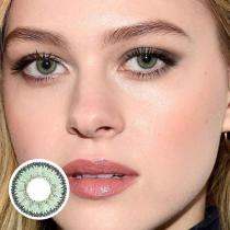 Marble Green Yearly Colored Contacts