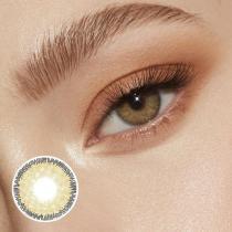 Premium Brown Prescription Yearly Colored Contacts