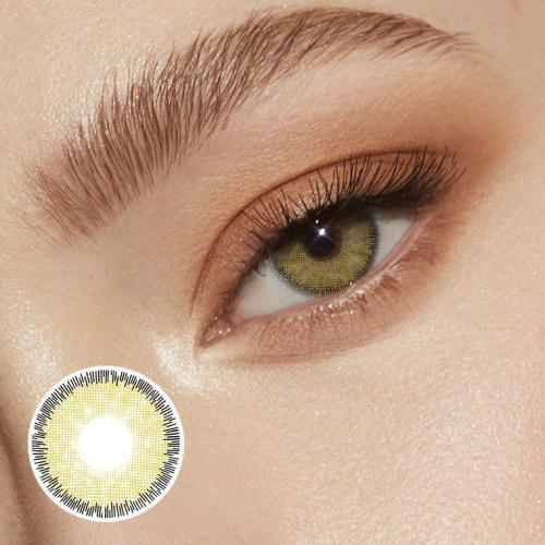 Premium Hazel Prescription Yearly Colored Contacts