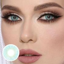 Cherry Nattier Blue Yearly Colored Contacts