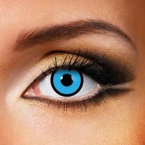 Circle Blue Yearly Colored Contacts