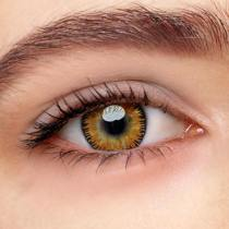 Mystery Yellow Prescription Yearly Colored Contacts