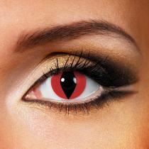 Snake & Lizard Red Yearly Colored Contacts