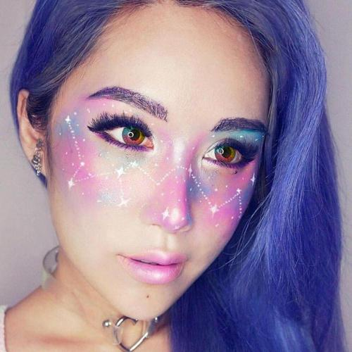 Multi Rainbow Yearly Colored Contacts