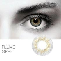 Plume Grey Yearly Colored Contacts