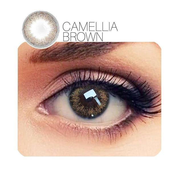 Camellia Brown Yearly Colored Contacts