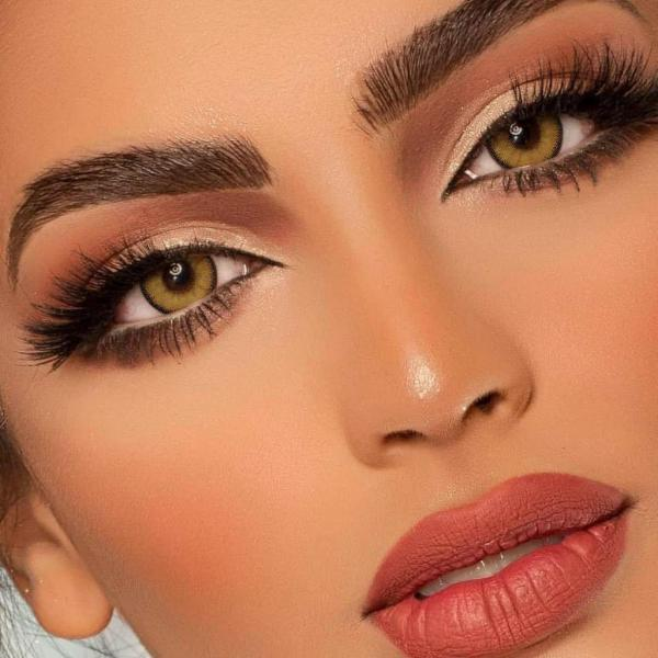 Egypt Brown Prescription Yearly Colored Contacts
