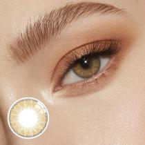 Glassball Brown Prescription Yearly Colored Contacts