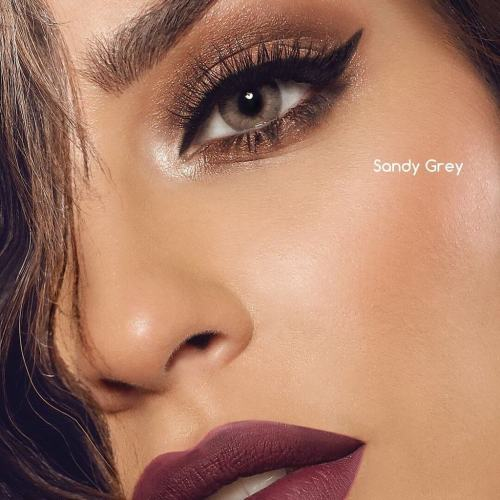 Fantasy Sandy Grey Yearly Colored Contacts