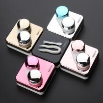Metal Color Mirror Surface Colored Contacts Case