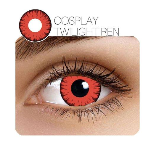 Twilight Cosplay Red Yearly Colored Contacts