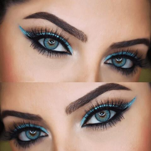 Natural Topazio Yearly Colored Contacts