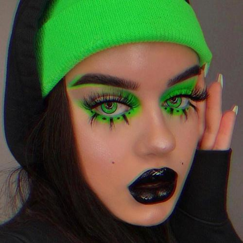 Green Manson 2 Yearly Colored Contacts
