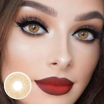 Lemon Chestnut Yearly Colored Contacts