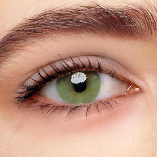 Polar Lights Yellow Green Prescription Yearly Colored Contacts