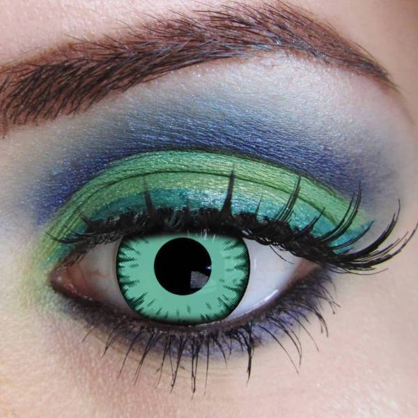 Twilight Cosplay Green Yearly Colored Contacts