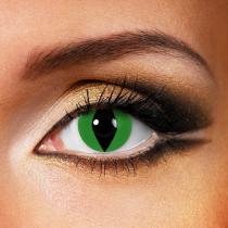 Snake & Lizard Green Yearly Colored Contacts