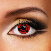 NARUTO-Vortex Cosplay Red Yearly Colored Contacts