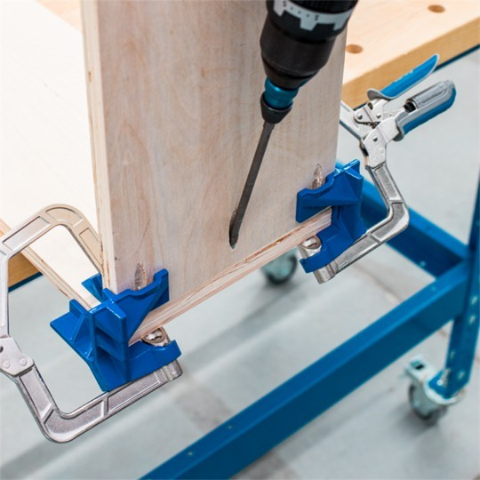 Perfect Tool For Box Construction- 90° Corner Clamp
