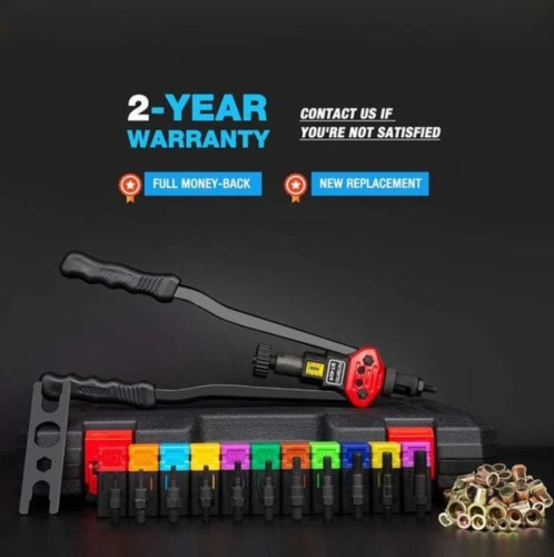 Premium Automatic Rivet Tool Set