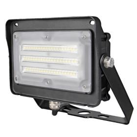 (FL-C2-E) LED Flood Light with Photocell YOKE 15W 30W 50W -130lm/w -100-277V -ETL cETL DLC