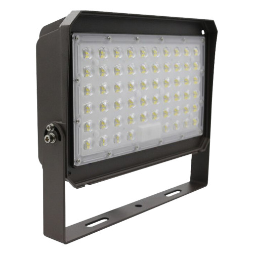 (PL01-E) LED Flood Light Area Light With Photocell -  U  Yoke Bracket - 150W 200W -140lm/w - 100-277V/347V -ETL cETL DLC CE RoHs