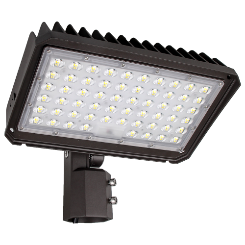 (PL01-A) LED Flood Light Area Light Parking Lot Light With Photocell - Slip Filtter Bracket - 150W 200W -130lm/w -100-277V - ETL cETL DLC