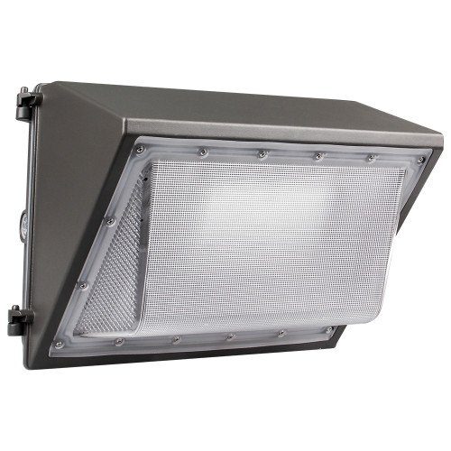 (WP-B) Half Cut Off LED Wall Pack With Photocell -PC Cover -42W 60W 80W 100W 120W -120lm/w -100-277V or 100-347V -ETL cETL DLC