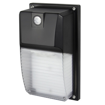 (WP-18A2) 18W Mimi LED Wall Mount With Photocell Dusk to Down -120lm/w -100-277V -ETL cETL DLC