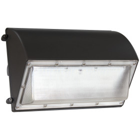 (WP-B2) Half Cut Off LED Wall Pack With Photocell -PC Cover -42W 60W 80W 100W 120W -130lm/w -100-277V or 100-347V -ETL cETL DLC Preimium
