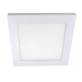 (PLY-S)  Recessed + Mounted Slim Square Panel Light Cut-Out Adjustable Down Light 155mm 9W - 175mm 12W - 225mm 18W - 300mm 24W - CE Rohs
