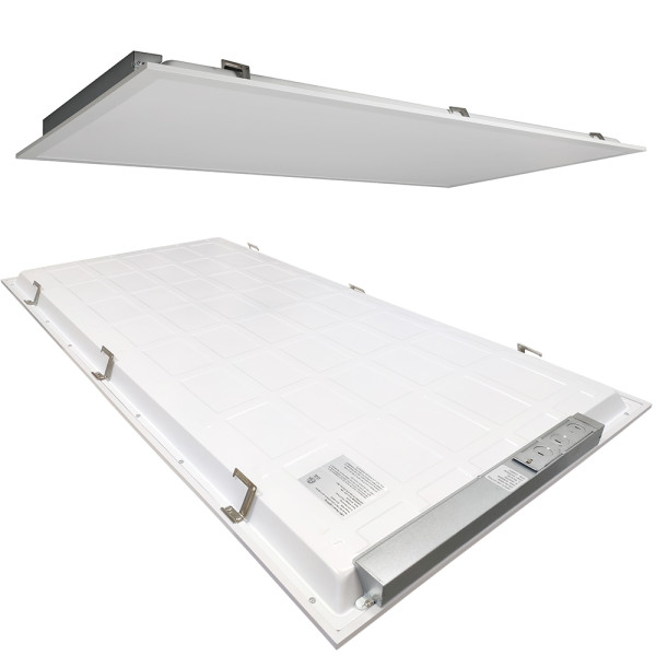 ETL DLC LED Panel Light 0-10V Dimmable 2x4 50W 40W 35W 30W CCT Selectable 110lm/w or 130lm/w 5 Years Warranty