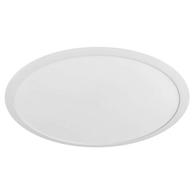 (PLW-R) Recessed  Round LED Panel Light Down Light 400mm 500mm 600mm 26W 30W 40W 110lm/w CRI 90Ra -CE, Rohs - 5 Years Warranty