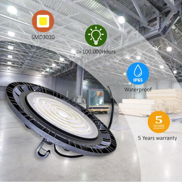 (HB-G) LED High Bay Light 100w 200w 200W 240w -130lm/w or 160lm/w -1-10V dimmable -ETL cETL DLC Premium