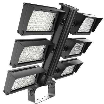 (HPM) High Post LED Stadium Light 240W 300W 480W 600W 720W 900W 1200W 1450W 1800W -160lm/w - CE CB TUV ENECRohs