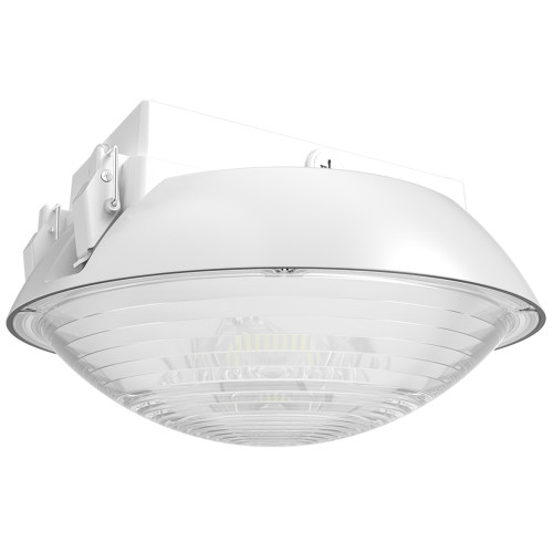(PGA) 170° Distribution LED Canopy Light Parking Garage 40W 60W 80W 100W -120lm/w -100-277V or 100-347V -ETL cETL DLC