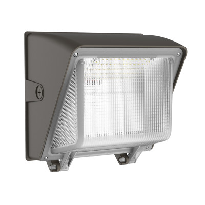 (WP-80E) Power and CCT Switchbale LED Wall Pack Light With Photocell - 40W 60W 80W -130lm/w -100-277V or 100-347V -ETL cETL DLC5.1 Preimium