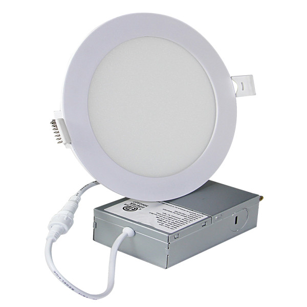 (DLD-06) High CRI 90Ra 6'' -14W Ultra-thin Canless LED Recessed Downlight -1200lm -ETL cETL Energy Star