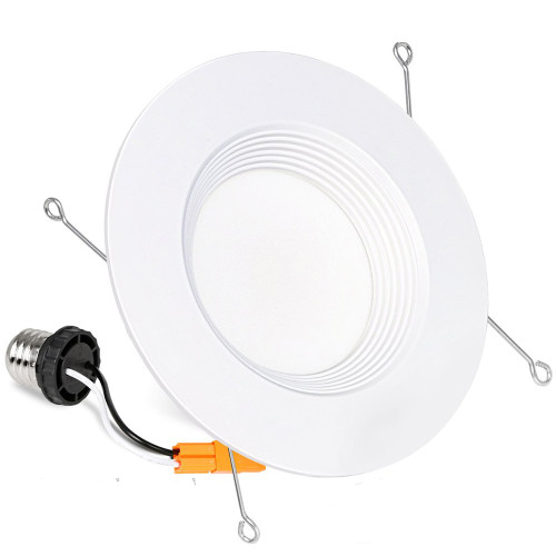 (DLA-06) High CRI 90Ra 5'' / 6'' -15W LED Recessed Downlight Can Retrofit - Baffle Trim -1200lm -ETL cETL Energy Star