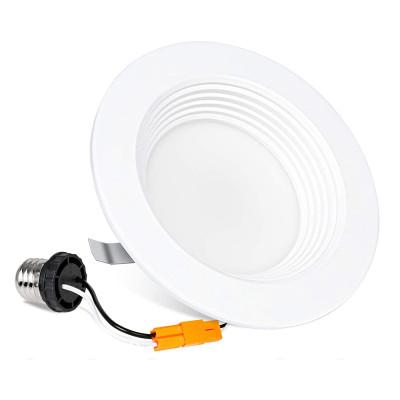 (DLA-04) High CRI 90Ra 4'' -11W LED Recessed Downlight Can Retrofit - Baffle Trim -850lm -ETL cETL Energy Star