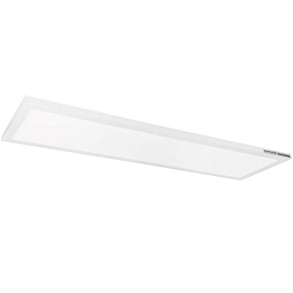 (MPS) Square LED Flush Mount Ceiling Light 3CCT Switchable 1x1FT 12W -1x2FT 24W-1x4FT 48W -120V Dimmable - ETL FCC Energy Star