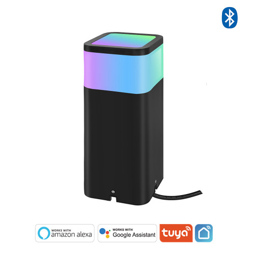 White and Color Ambiance Bluetooth Mesh LED Landscape Path Light - APP / Voice Control -Work with Tuya,  Alexa,Goolge Assistant