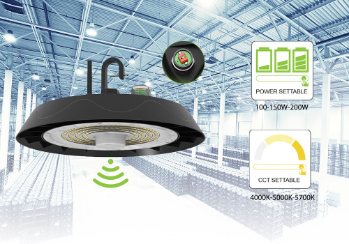 Power and CCT Selectable High Bay Light